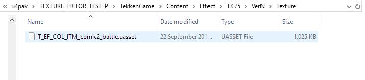 Extract Uasset Files
